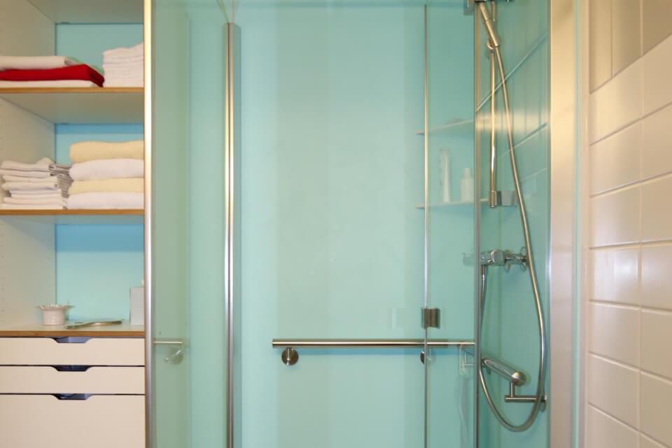 Badezimmer Nachhersituation