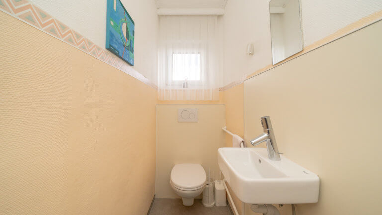 WC-Sanierung Nachher-Situation