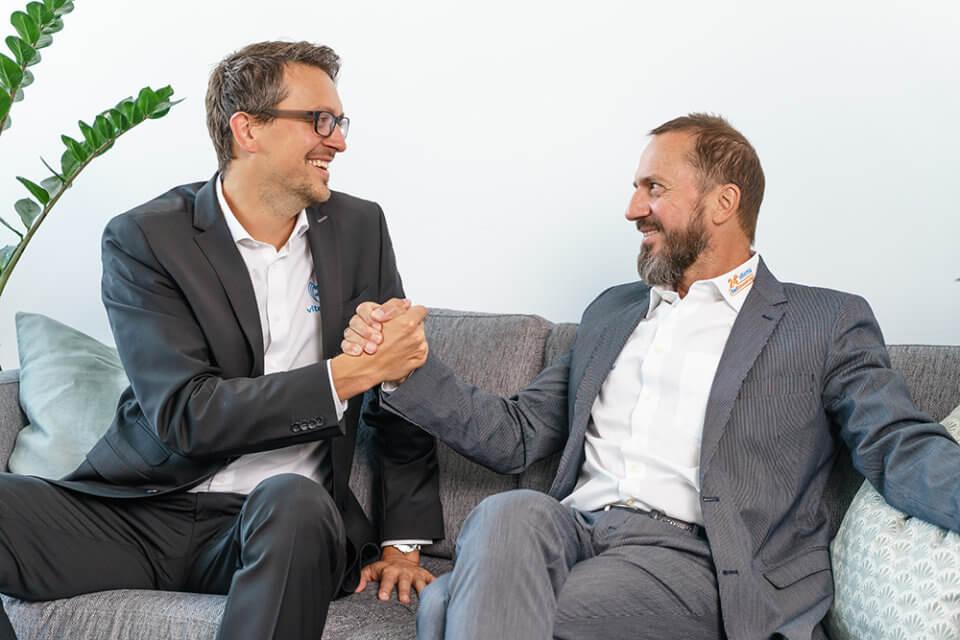 viterma Geschäftsführer Marco und Herbert Fitz