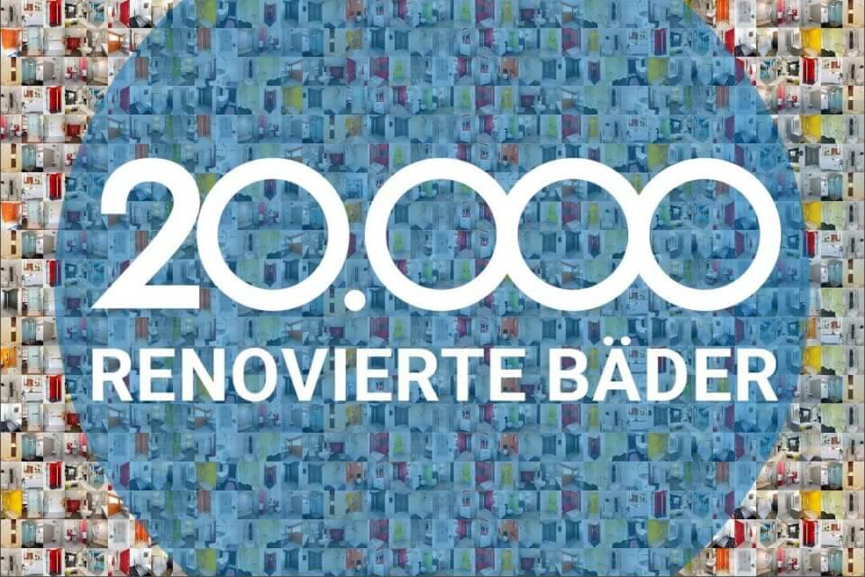 Viterma Baddsanierung 20.000 Badezimmer