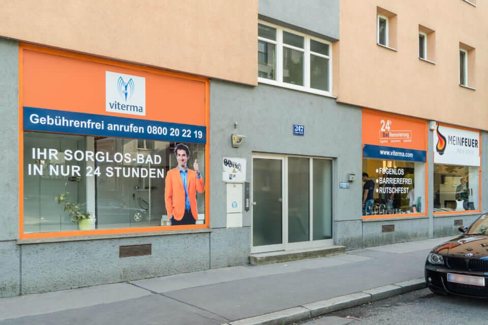 Viterma Badausstellung Wien Penzing